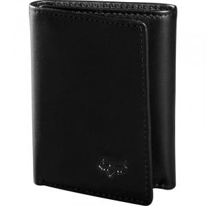 Peněženka Fox TRIFOLD LEATHER WALLET BLACK