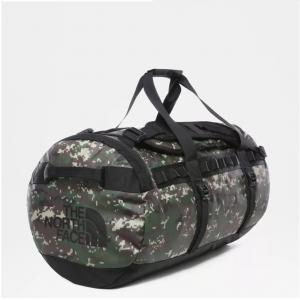 Taška The North Face BASE CAMP DUFFEL - M BURNTOLVEGRNDGCAMO/TNFBLK