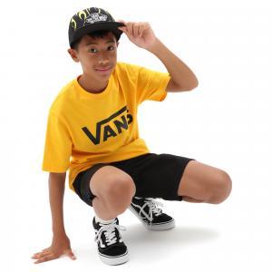 Tričko Vans CLASSIC BOYS SAFFRON/BLACK