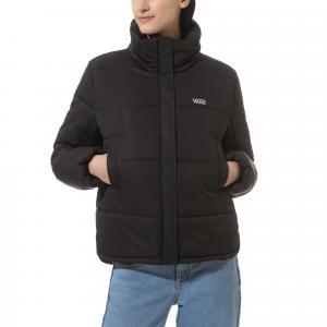 Zimní bunda Vans GALATIC SPIRAL PUFFER Black