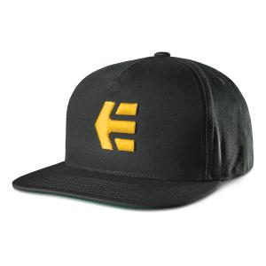 Kšiltovka Etnies Icon Snapback BLACK/YELLOW