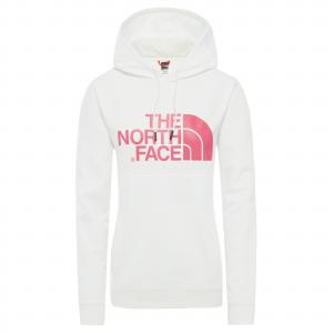 Mikina The North Face DREW HOODY TNF WHITE/MR. PINK