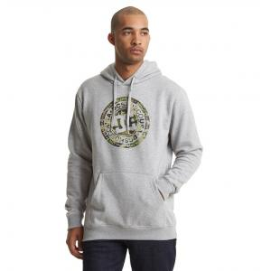 Mikina DC CIRCLE STAR PH GREY HEATHER/CAMO