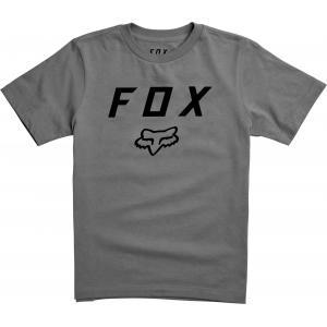 Tričko Fox Youth Legacy Moth Ss Tee Heather Graphite