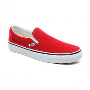 Boty Vans Classic Slip-On RACING RED/TRUE WHITE