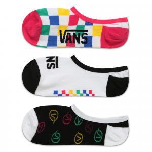 Ponožky Vans CHECK BLOCK CANOODLE 3 PACK Multi