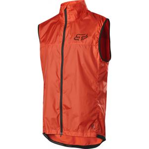 Vesta na kolo Fox Defend Wind Vest Orange Crush