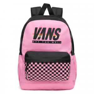 Batoh Vans SPORTY REALM PLUS BACKPACK FUCHSIA PINK/SPORT STRIPE