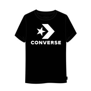 Tričko Converse STAR CHEVRON CENTER FRONT TEE BLACK