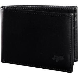 Peněženka Fox BIFOLD LEATHER WALLET BLACK
