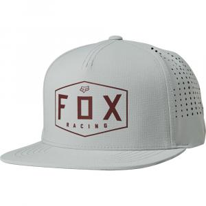 Kšiltovka Fox Crest Snapback Hat Grey/Red