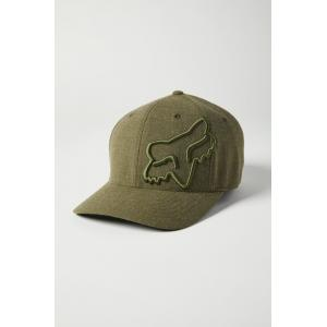Kšiltovka Fox Clouded Flexfit 2.0 Hat Olive Green