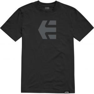Tričko Etnies Icon Tee BLACK