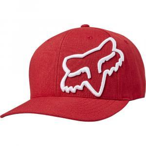 Kšiltovka Fox Clouded Flexfit Red/White