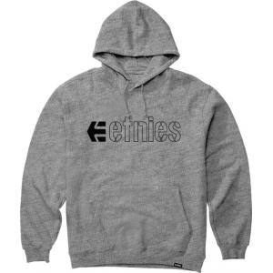 Mikina Etnies Ecorp Hoodie GREY/HEATHER