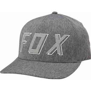 Kšiltovka Fox Barred Flexfit Hat Dark Grey