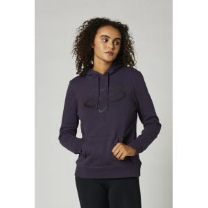 Mikina Fox Boundary Pullover Fleece Dark Purple