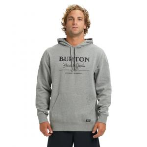 Mikina Burton DURABLE GOODS PO GRAY HEATHER