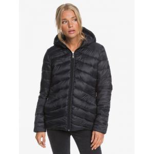 Zimní bunda Roxy COAST ROAD HOODED ANTHRACITE