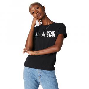 Tričko Converse ALL STAR SHORT SLEEVE CREW T-SHIRT BLACK