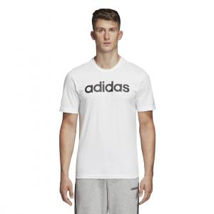 Tričko Adidas E LIN TEE WHITE/BLACK