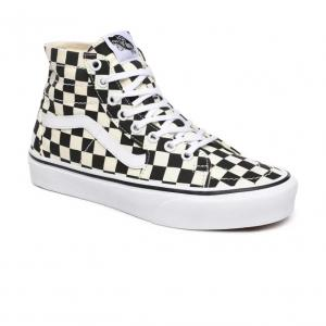 Boty Vans SK8-Hi Tapered Checkerboard Black/TrueWhite