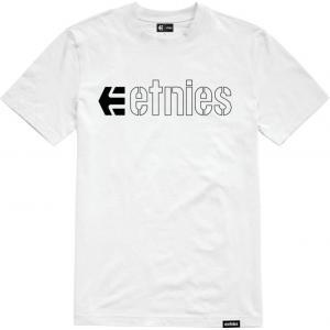 Tričko Etnies Ecorp Tee WHITE