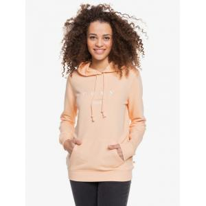 Mikina Roxy DAY BREAKS HOODIE TERRY A APRICOT ICE