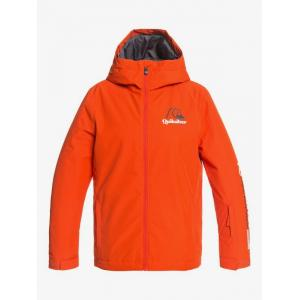 Zimní bunda Quiksilver IN THE HOOD YOUTH JK PUREED PUMPKIN
