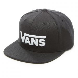 Kšiltovka Vans DROP V II SNAPBACK BOYS Black/White