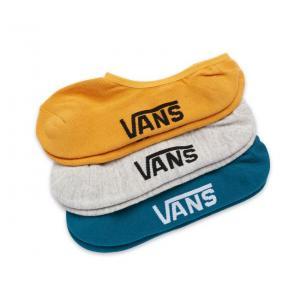 Ponožky Vans CLASSIC SUPER NO SHOW 3PACK GOLDEN GLOW