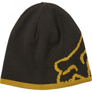 Čepice Fox Streamliner Beanie Black/Yellow