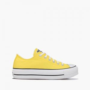 Boty Converse CHUCK TAYLOR ALL STAR LIFT BUTTER YELLOW/WHITE/BLACK