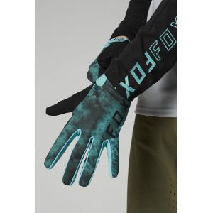 Cyklistické rukavice Fox Ranger Glove Teal