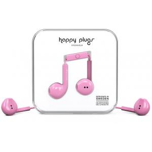 Sluchátka Happy Plugs Earbud Plus Pink