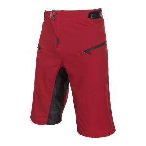 MTB kraťasy na kolo Oneal PIN IT Shorts red/orange