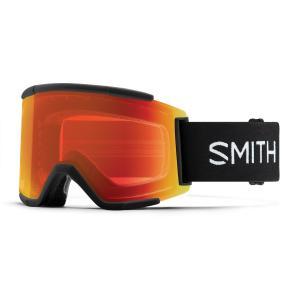 Lyžařské brýle Smith SQUAD XL   BLACK/CHROMAPOP EVERYDAY RED MIRROR