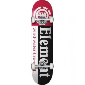 Skateboardový komplet Element SECTION BLK/RED