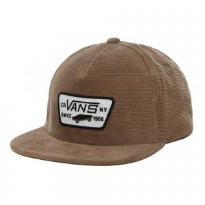 Kšiltovka Vans FULL PATCH SNAPBACK Dirt