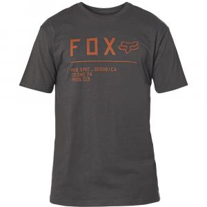 Tričko Fox Non Stop Ss Premium Tee Black/Orange