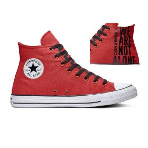 Boty Converse CHUCK TAYLOR ALL STAR WE ARE NOT ALONE ENAMEL RED/BLACK/WHITE