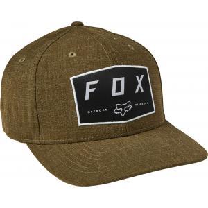 Kšiltovka Fox Badge Flexfit Hat Fatigue Green
