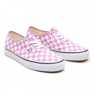 Boty Vans Authentic CHECKERBOARD ORCHID/TRUE WHITE