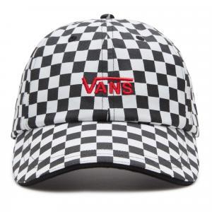 Kšiltovka Vans HIGH STANDARD HAT Black/White Checkerboard
