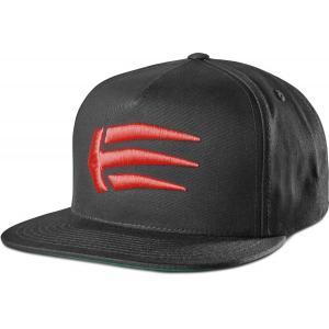 Kšiltovka Etnies Joslin Snapback BLACK/RED