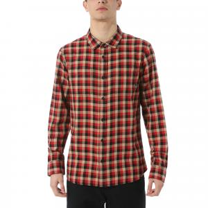 Košile Vans ALAMEDA II CHILI PEPPER/KHAKI