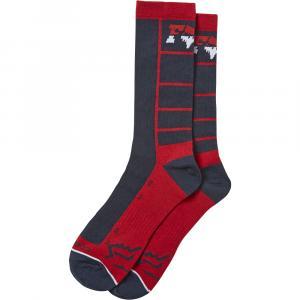 Ponožky Fox Lane Splitter Crew Sock Navy/Red