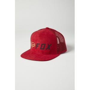 Kšiltovka Fox Youth Apex Snapback Hat Red/Black