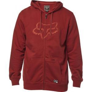 Mikina Fox Tracer Zip Fleece Bordeaux
