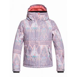 Zimní bunda Roxy JETTY GIRL JK MINIMAL GREY_MOSAIC